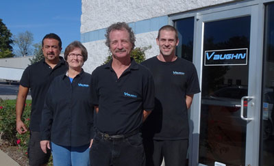 The Vaughn Motorwerks team